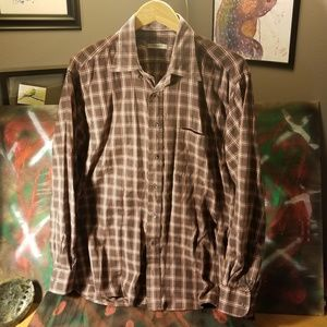 Vintage Burberry London shirt made in USA large
